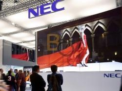 ★ Monitory NEC - instalacja ścian video