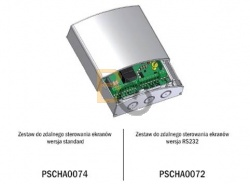 Bezprzewodowy odbiornik radiowy Adeo z możliwością sterowania z projektora (+12 Volt)