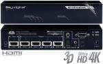 Dystrybutor sygnału HDMI Key Digital KD-HD1x4ProK
