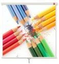 Ekran AVtek Wall 200x200 cm (1:1)