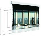 Ekran Adeo Tensio Multiformat 225 cm