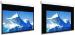 Ekran elektryczny Adeo Biformat BE z czarną ramką 250 cm