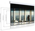 Ekran elektryczny Adeo Multiformat 225 cm