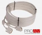 Kabel ProAV Professional DVI-D (24+1) Digital Dual Link M/M HQ  2.0 m