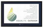 Monitor pogodoodporny Aqualite AQLS-42 z ochroną IP66