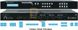 Procesor do ścian wideo Key Digital KD-VW4x4Pro