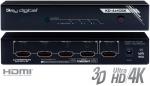 Przełącznik HDMI Key Digital KD-4x1CSK