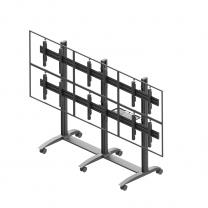 Ściana wideo mobilna, modułowa w układzie 3x2, VWTA3257-L, dla monitorów 50-57'' poziom