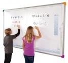 Zestaw interaktynwy - tablica interaktywna Interwrite DualBoard 1297 + projektor BenQ MW820ST + warianty