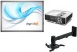 Zestaw interaktywny Class Premium - Tablica interaktywna Esprit MT + projektor BenQ MX819ST + uchwyt
