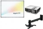 Zestaw interaktywny Class Pro - Tablica interaktywna Esprit PP + projektor BenQ MX825ST + uchwyt