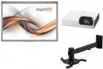 Zestaw interaktywny - Tablica interaktywna Esprit DT + projektor VPL-SX226 + uchwyt