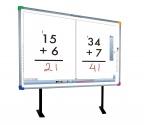 Zestaw interaktywny – tablica interaktywna Interwrite 1277 +  BenQ MP812ST + uchwyt