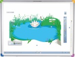 Zestaw interaktywny - tablica interaktywna Interwrite DualBoard 1279 + projektor Benq MX825ST + uchwyt