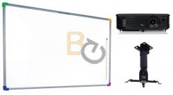 Zestaw interaktywny - tablica interaktywna Interwrite DualBoard 1279 + projektor Optoma DX349 + warianty