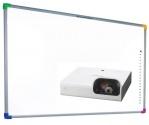 Zestaw interaktywny - tablica interaktywna Interwrite DualBoard 1279 + projektor SONY VPL-SX226 + warianty