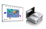 Zestaw interaktywny - tablica interaktywna Interwrite DualBoard 1279 + projektor ultrakrótkoogniskowy Benq MX852UST + uchwyt ścienny