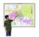 Zestaw interaktywny - tablica interaktywna Interwrite Touch Board PLUS 1078 + projektor Benq MX822ST + uchwyt