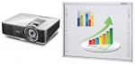 Zestaw interaktywny - tablica interaktywna Newline TruBoard IR10-78 + projektor BenQ MX806ST + uchwyt ścienny