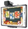 Zestaw interaktywny - tablica interaktywna QOMO QWB200 PS + projektor + uchwyt