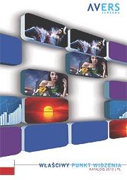 Ekrany projekcyjne Avers Screens katalog 2015 PL
