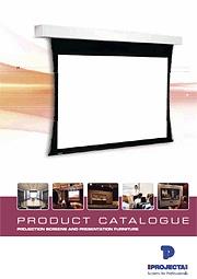 Ekrany projekcyjne Projecta 2012 ENG