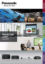 Projektory Panasonic 2012 ENG