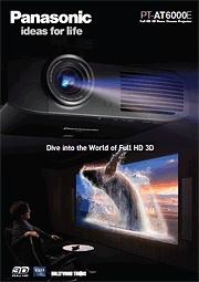 Projektor kina domowego Panasonic PT-AT6000E