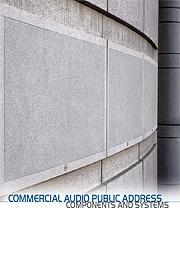 RCF nagłośnienie komercyjne katalog 2012