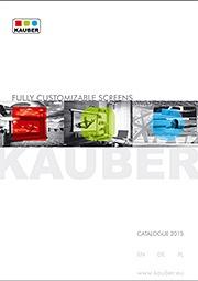 Ekrany projekcyjne Kauber Katalog 2015 PL