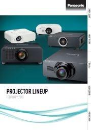 Projektory Panasonic 2015 ENG