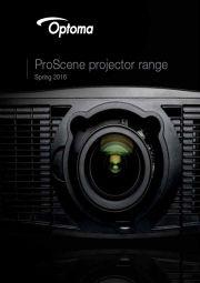 Projektory Optoma 2016 ENG